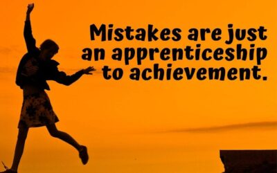 It's ok to make mistakes, just remember…