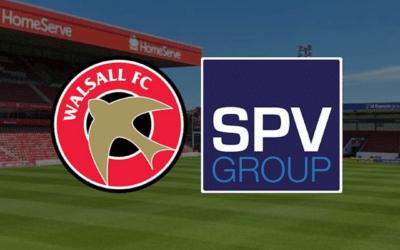 Walsall Football Club renew their partnership with SPV Group